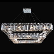 Allegri 11781-010-FR001 Quadro Chrome Hanging Light