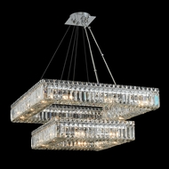 Allegri 11782-010-FR001 Quadro Chrome Pendant Light Fixture