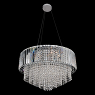 Allegri 22751 Adaliz Chrome Drop Ceiling Light Fixture