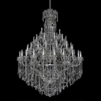 Allegri 23450 Brahms Chrome Lighting Chandelier