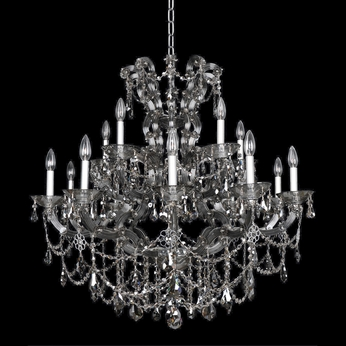 Allegri 23451 Brahms Chrome Chandelier Lamp