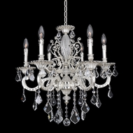Allegri 24751 Casella 2-Tone Silver Chandelier Light