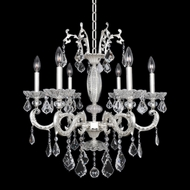 Allegri 24755 Casella 2-Tone Silver Chandelier Lighting