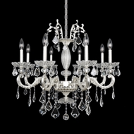 Allegri 24756 Casella 2-Tone Silver Lighting Chandelier
