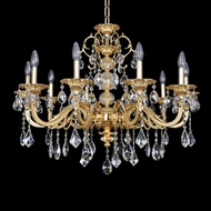 Allegri 25350 Vivaldi Two-Tone Gold /24K Chandelier Lamp
