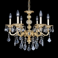 Allegri 25351 Vivaldi Two-Tone Gold /24K Chandelier Light