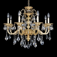 Allegri 25352 Vivaldi Two-Tone Gold /24K Ceiling Chandelier