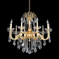 Allegri 25452 Barret French Gold / 24K Chandelier Lighting