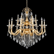 Allegri 25453 Barret French Gold / 24K Lighting Chandelier