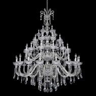Allegri 26056 Clovio Chrome Chandelier Light