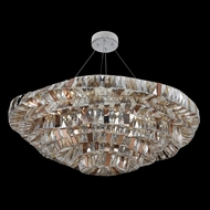 Allegri 26353 Gehry Chrome Drop Ceiling Lighting