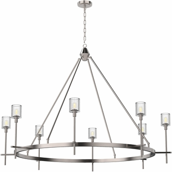 Alora CH314310PNRC Salita Polished Nickel 57.8  Chandelier Light