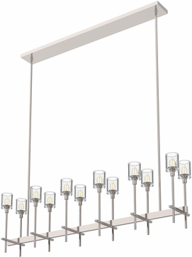 Alora LP314312PNCC Salita Polished Nickel 55.5  Island Lighting