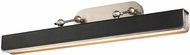 Alora PL307931ANTL Valise Modern Aged Nickel / Tuxedo Leather LED 31.5  Painting Light Fixture