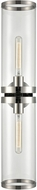 Alora WV311602PNCG Revolve II Contemporary Polished Nickel Lighting Wall Sconce