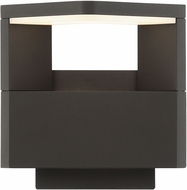 Arnsberg 221760142 Amarillo Contemporary Charcoal LED Wall Sconce Lighting