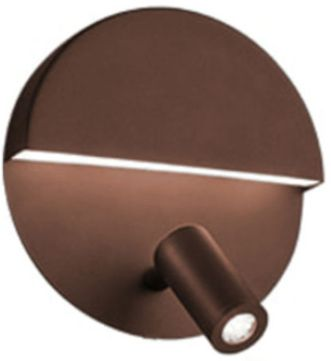 Arnsberg 222370228 Mario Modern Bronze LED Wall Lighting Sconce