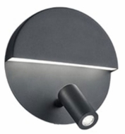 Arnsberg 222370232 Mario Modern Black LED Wall Mounted Lamp
