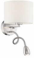 Arnsberg 271170201 Grannus Contemporary White LED Wall Sconce
