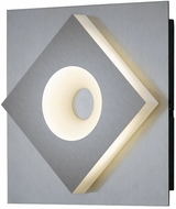 Arnsberg 275470107 Atlanta Contemporary Satin Nickel LED Wall Lamp