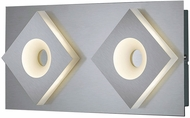 Arnsberg 275470207 Atlanta Modern Satin Nickel LED Wall Lighting