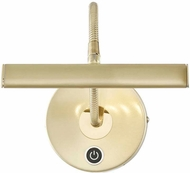 Arnsberg 279770108 Curtis Modern Satin Brass LED Art Lamp