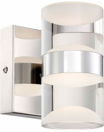 Arnsberg 282710206 H2O Modern Chrome LED Lighting Sconce