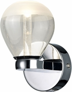 Arnsberg 282810106 H2O Bulb Contemporary Chrome LED Lamp Sconce