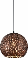 Arnsberg 302200162 Frieda Modern Old Brass Hanging Pendant Light