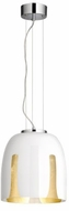 Arnsberg 310200101 Madeira Contemporary White/Gold 12  Lighting Pendant