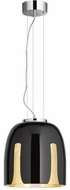 Arnsberg 310200102 Madeira Contemporary Black/Gold 12  Pendant Lamp
