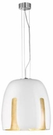 Arnsberg 310290101 Madeira Contemporary White/Gold 19  Hanging Lamp