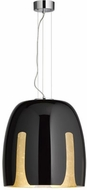 Arnsberg 310290102 Madeira Modern Black/Gold 19  Hanging Light