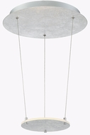 Arnsberg 323810189 Zenith Contemporary Silver / Chrome LED Pendant Hanging Light