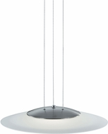 Arnsberg 324110107 Dakar Modern Satin Nickel LED Hanging Light Fixture