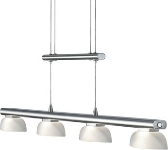 Arnsberg 324390407 Senator Modern Satin Nickel LED Drop Ceiling Lighting