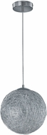 Arnsberg 325113005 Thunder Modern Brushed Aluminum LED 12  Ceiling Pendant Light