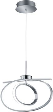 Arnsberg 374910106 Coronado Contemporary Chrome LED Pendant Lamp