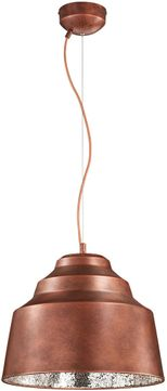 Arnsberg 376610309 Naples Contemporary Copper Plated / Silver LED Pendant Lighting Fixture