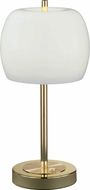 Arnsberg 528990803 Pear Modern Polished Brass LED Accent Table Lighting