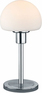 Arnsberg 529210107 Wilhelm Contemporary Satin Nickel LED Accent Table Lamp Lighting