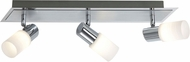 Arnsberg 821410305 Dallas Modern Brushed Aluminum LED Track Lighting