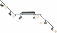 Arnsberg 821410605 Dallas Contemporary Brushed Aluminum LED Track Light