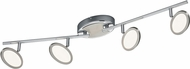Arnsberg 872010406 Duellant Contemporary Chrome LED Track Lighting Kit