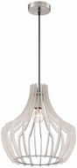 Arnsberg R30253827 Wood Contemporary White Drop Lighting