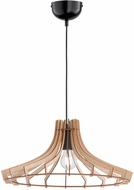 Arnsberg R30254730 Wood Contemporary Wood Color Ceiling Pendant Light