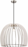 Arnsberg R30256027 Wood Contemporary White Pendant Lighting