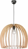 Arnsberg R30256030 Wood Contemporary Wood Color Pendant Light