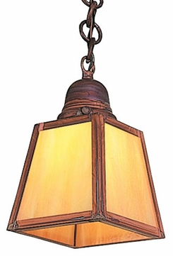 Arroyo Craftsman AH-1 A-Line Craftsman Chain Hung Mini Pendant
