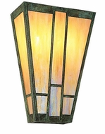 Arroyo Craftsman AS-12 Asheville Craftsman Wall Sconce - 12 inches wide